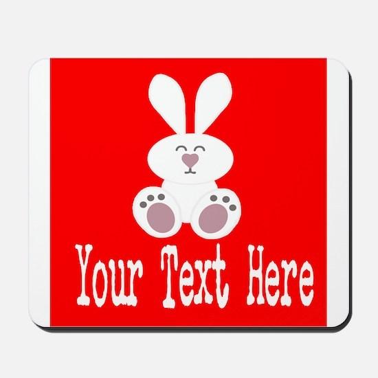 Personalizable Rabbit Mousepad