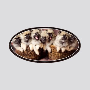 Puppies in baskets Patch