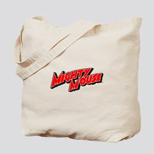 Mighty Mouse Logo Tote Bag