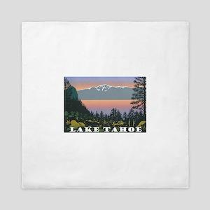 Mt. Tallac Lake Tahoe Queen Duvet