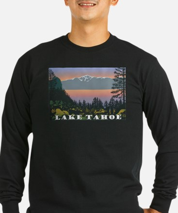 Mt. Tallac Lake Tahoe Long Sleeve T-Shirt
