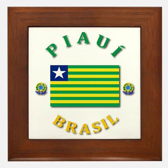 Piaui Framed Tile