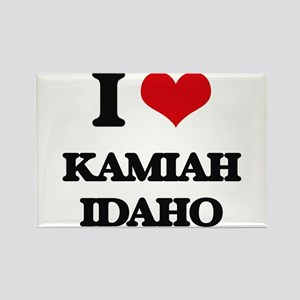 I love Kamiah Idaho Magnets