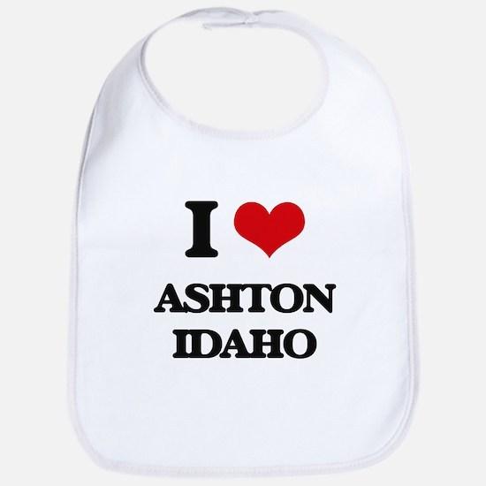 I love Ashton Idaho Bib