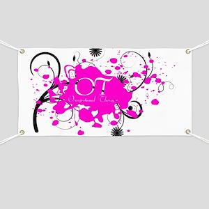 Pink Splatter OT Banner