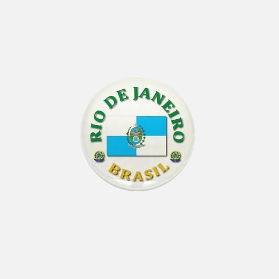 Rio de Janeiro Mini Button
