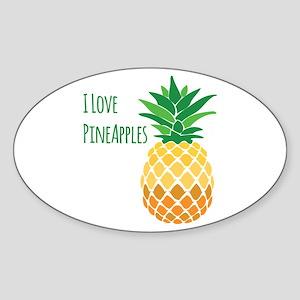Love Pineapples Sticker