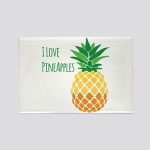 Love Pineapples Magnets
