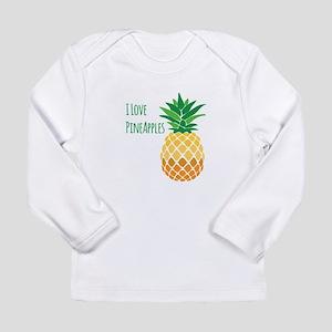 Love Pineapples Long Sleeve T-Shirt