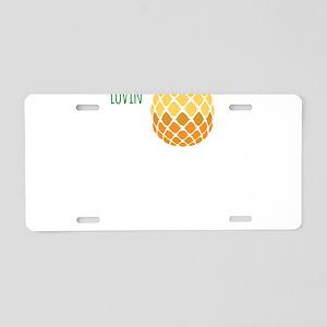 Summer Lovin Aluminum License Plate