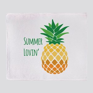 Summer Lovin Throw Blanket
