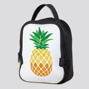 Pineapple Neoprene Lunch Bag
