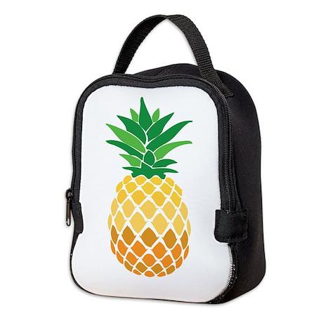 Pineapple Neoprene Lunch Bag