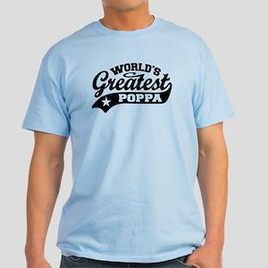 World's Greatest Poppa Light T-Shirt