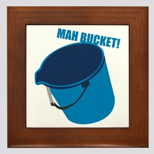 Mah Bucket Framed Tile