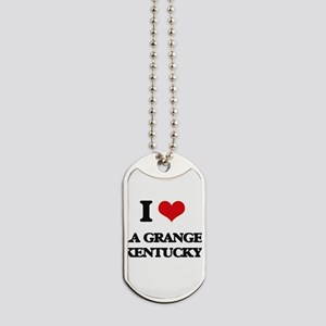 I love La Grange Kentucky Dog Tags