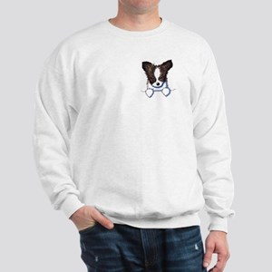 Pkt Papillon Puppy Sweatshirt