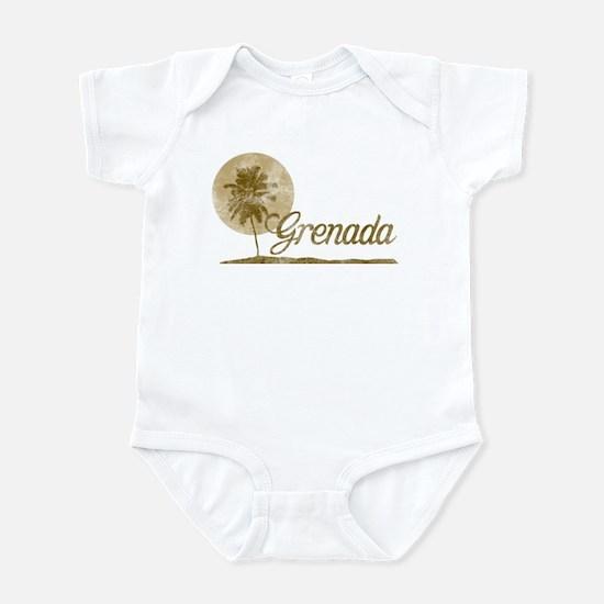 Palm Tree Grenada Infant Bodysuit