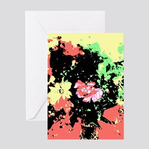Vase Of Flowers Greeting Cards