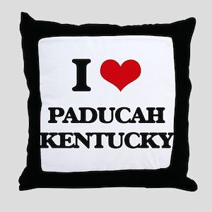 I love Paducah Kentucky Throw Pillow