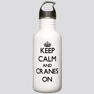 Keep Calm and Cranes O Stainless Water Bottle 1.0L
