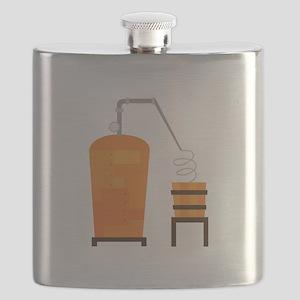 Whiskey Still Flask