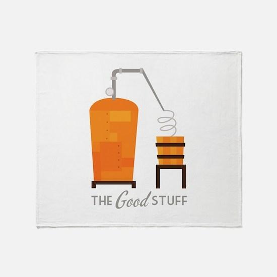 Good Stuff Throw Blanket