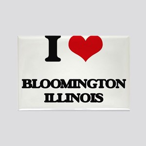 I love Bloomington Illinois Magnets