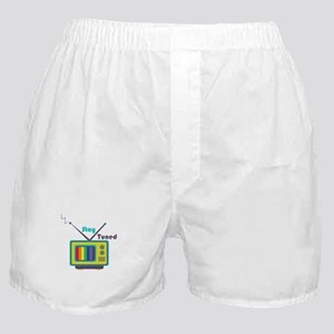 Stay Tuned Boxer Shorts