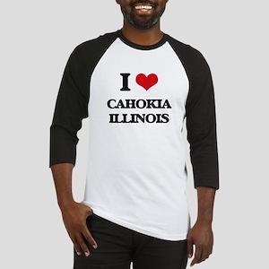 I love Cahokia Illinois Baseball Jersey