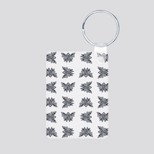 SLATE RIBBON Aluminum Photo Keychain