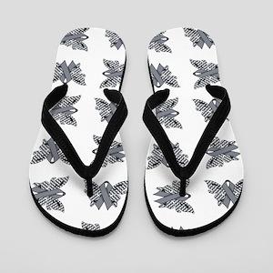 SLATE RIBBON Flip Flops