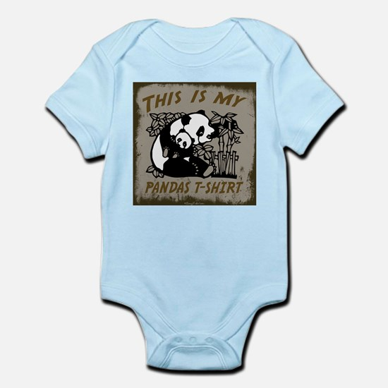 My Pandas T-Shirt Infant Bodysuit