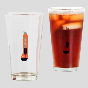 Box Cutter Drinking Glass