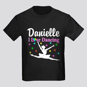 DANCING PRINCESS Kids Dark T-Shirt
