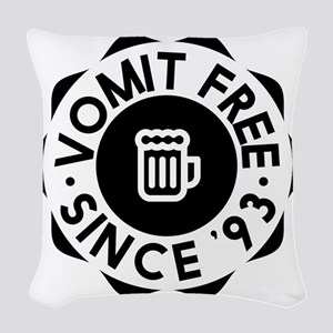 Vomit Free HIMYM Woven Throw Pillow