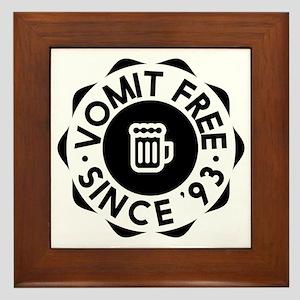 Vomit Free HIMYM Framed Tile