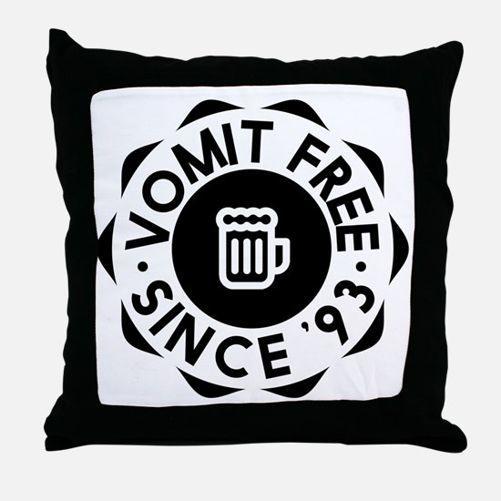 Vomit Free HIMYM Throw Pillow