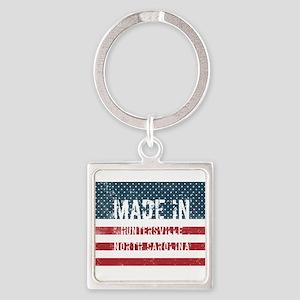 Made in Huntersville, North Carolina Keychains