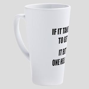 Bar Exam Gifts for Pre Law Student 17 oz Latte Mug