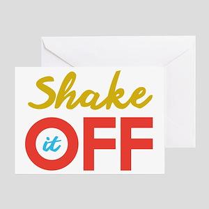 Shake it Off Greeting Card
