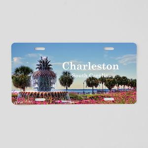 Charleston Aluminum License Plate