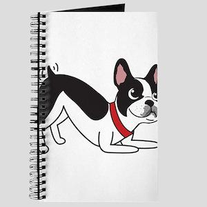 Happy Boston Terrier Journal