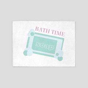 Bath Time 5'x7'Area Rug