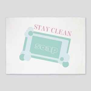 Stay Clean 5'x7'Area Rug