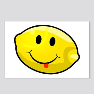 Smiley Lemon Face Postcards (Package of 8)