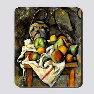 Cezanne - Ginger Jar and Fruit Mousepad