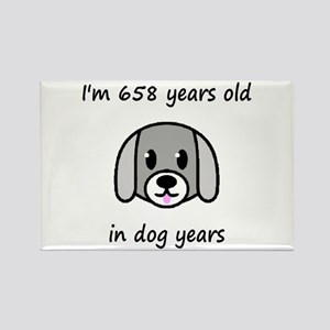 94 dog years 2 - 2 Magnets