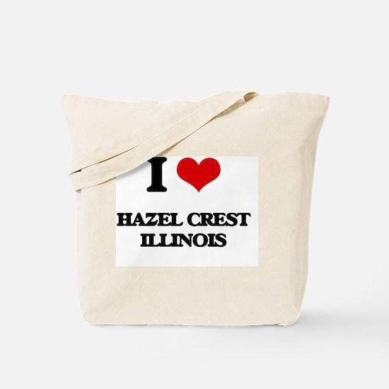 I love Hazel Crest Illinois Tote Bag