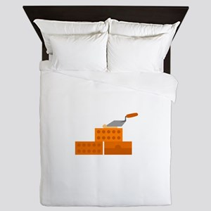 Brick Layer Queen Duvet